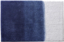Online Designer Bathroom ombre blue bath runner
