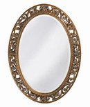 Online Designer Bedroom Oval Antique Bronze Wall Mirror