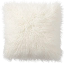 Online Designer Living Room MONGOLIAN FAUX FUR PILLOW COVER, 18