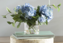 Online Designer Living Room Hydrangea Flower Spray Arrangement