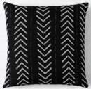 Online Designer Living Room SUNBRELLA® AFRICAN MUD CLOTH ARROWHEAD SQUARE PILLOW COVER