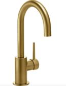 Online Designer Kitchen Delta Faucet 1959LF-CZ Contemporary Single Handle Bar Faucet with Swivel Spout