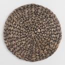 Online Designer Other Blackwash Natural Fiber Round Placemat Set Of 4