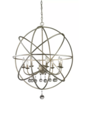 Online Designer Hallway/Entry Leonora 8-Light Globe Chandelier