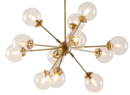 Online Designer Combined Living/Dining Benites 12-Light Sputnik Chandelier