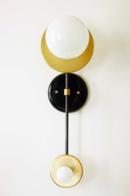 Online Designer Bathroom Double Wall Brass Sconce Lamp