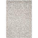 Online Designer Living Room Schacher Ivory/Charcoal Area Rug by Varick Gallery