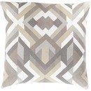 Online Designer Living Room Geometric Cotton Throw Pillow by Surya