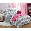 Online Designer Bedroom Chevron Comforter Set