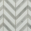 Online Designer Combined Living/Dining Monarch White Thassos With White Carrera Marble Tile