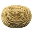 Online Designer Combined Living/Dining Dahl Color Cable Knit Ottoman