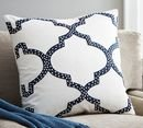 Online Designer Living Room Dearsley Embroidered Pillow Cover