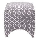 Online Designer Bedroom Madison Park Rileigh Quatrefoil Fretwork Ottoman