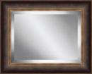 Online Designer Living Room Framed Beveled Plate Glass Mirror by Ashton Wall Décor LLC