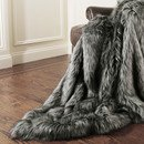 Online Designer Living Room Silver Fox Throw
