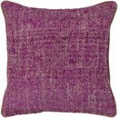 Online Designer Combined Living/Dining Textured Contemporary Silk Throw Pillow by Chandra