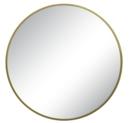 Online Designer Bathroom Round Decorative Wall Mirror Brass - Threshold™