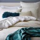 Online Designer Bedroom Organic Garden Matelasse Duvet Cover