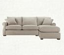 Online Designer Living Room Lansbury Grey 2 Piece Sectional