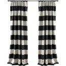 Online Designer Bedroom Stripe Curtain Panel by Lush Decor