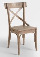 Online Designer Living Room Graywash Bistro Dining Chairs Set Of 2
