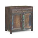 Online Designer Combined Living/Dining Reclaimed Wood 2-Door 2 Drawer Sideboard Cabinet
