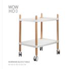 Online Designer Business/Office Normann Block table