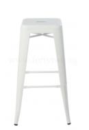 Online Designer Business/Office Retro Metal High Stool White