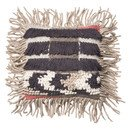 Online Designer Bedroom Grey & Multi Cotton Throw Pillow by Loloi Rugs