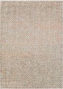 Online Designer Living Room Surya Jax Light Gray & Burnt Orange Rug 7.6' x 10.6'