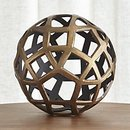 Online Designer Living Room Geo Large Decorative Metal Ball