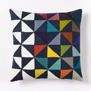 Online Designer Kids Room Wallace Sewell Multi Pinwheel Crewel Pillow Cover