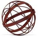 Online Designer Bedroom Bruening Distressed Metal Decorative Sphere Sculpture