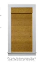 Online Designer Kitchen Budget Woven Wood Shade