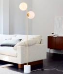 Online Designer Bedroom Sphere + Stem Floor Lamp