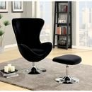 Online Designer Combined Living/Dining Maiah Balloon Chair and Ottoman