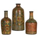 Online Designer Dining Room 3 Piece Ceramic Vase Set