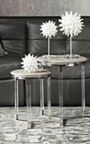 Online Designer Bedroom Murano Tables - Set of 2