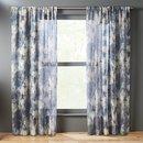 Online Designer Living Room issimo blue curtain panel 48