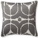 Online Designer Combined Living/Dining Embroidered Ikat Pillow Cover, 20