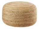 Online Designer Combined Living/Dining braided jute large pouf