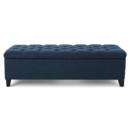 Online Designer Living Room Amalfi Upholstered Storage Bench
