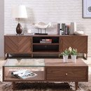 Online Designer Combined Living/Dining Akan Chevron TV Stand