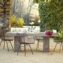 Online Designer Patio Gravitas Cement Dining Table 8'