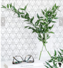 Online Designer Living Room Geometric Removable Wallpaper / Self Adhesive or Traditional Wallpaper A012