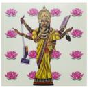 Online Designer Home/Small Office Shameless Menstruating Goddess - Borderless Poster Print
