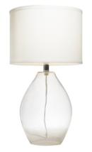 Online Designer Combined Living/Dining Kichler Lighting 1-light Clear Glass Table Lamp