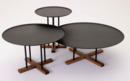 Online Designer Living Room B&T Sini Coffee Table Black   Medium