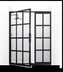 Online Designer Bathroom True Divided-Light Swing Door