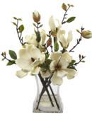 Online Designer Combined Living/Dining Magnolia Arrangement with Vase